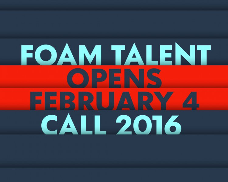 Foam Talent Call 2016