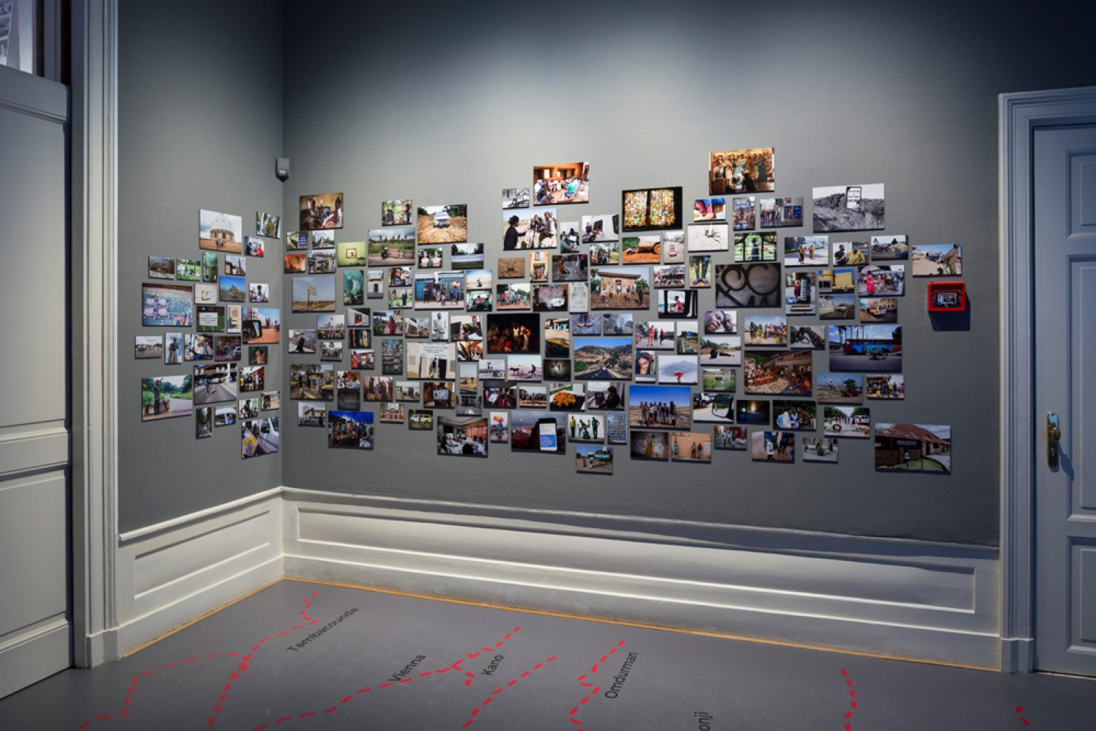 Installation shot Collectivism at Foam, 2017 © Christian van der Kooy