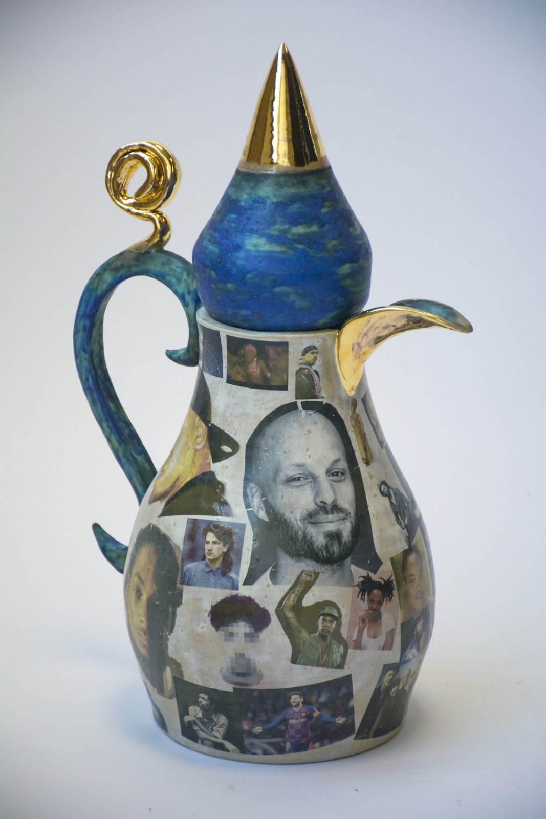 Teapot in collaboration with WONNE, 2020 © Susanne Khalil Yusef