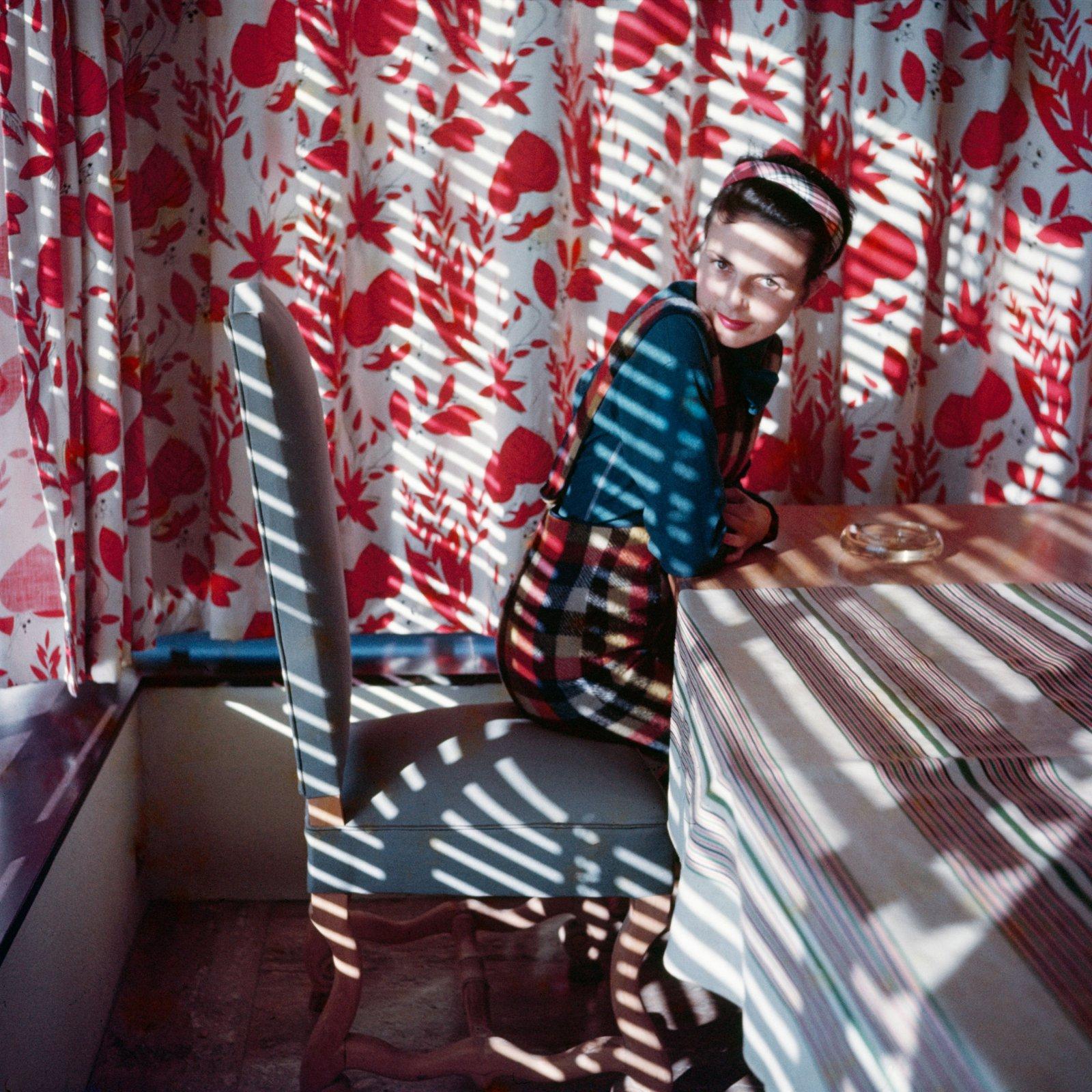 Florette. Vence, 1954. Photographie J. H. Lartigue © Ministère de la Culture - France / AAJHL