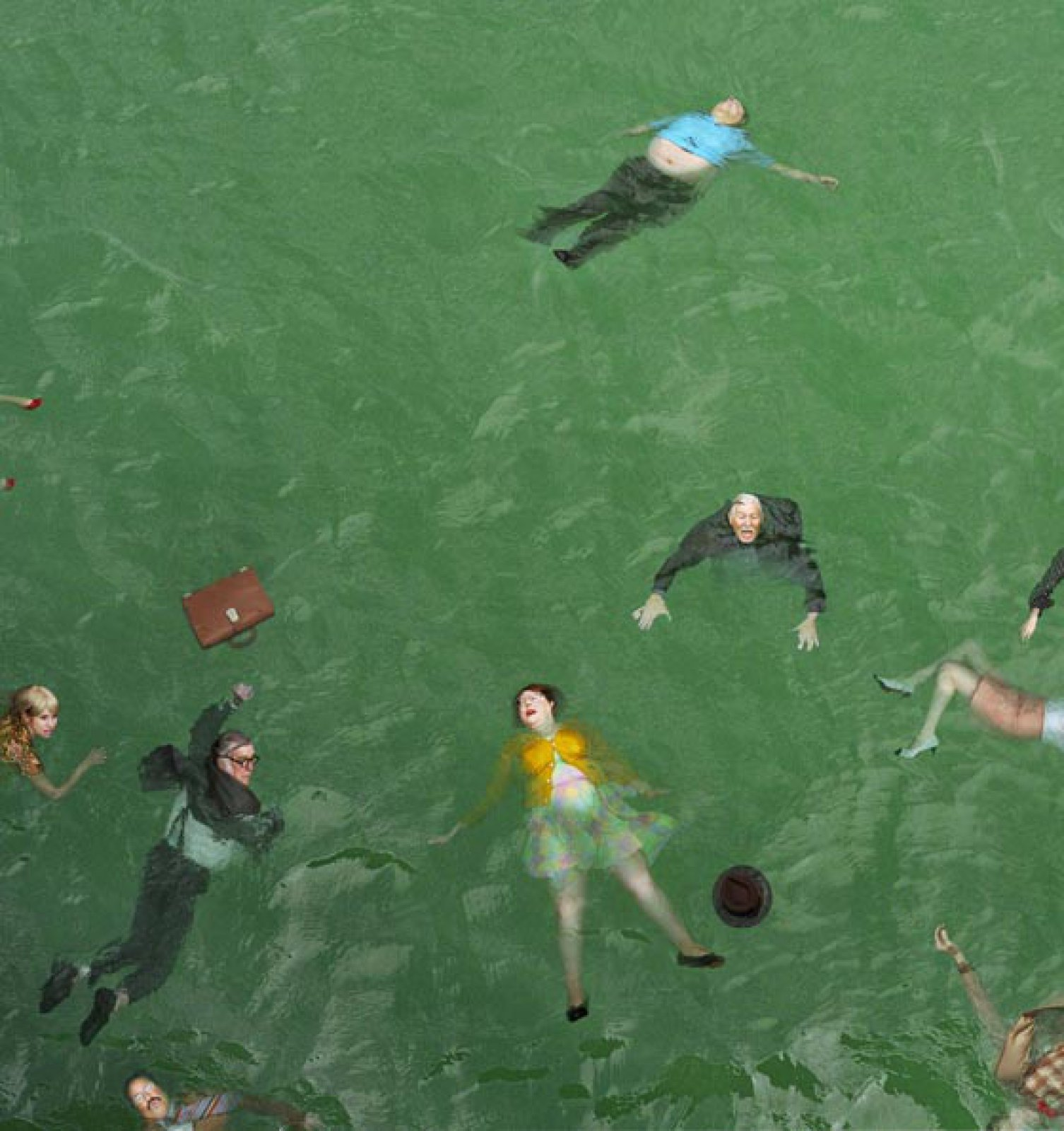 3:14pm, Pacific Ocean, 2012 © Alex Prager, Courtesy of the Artist, Michael Hoppen Gallery and Yancey Richardson Gallery