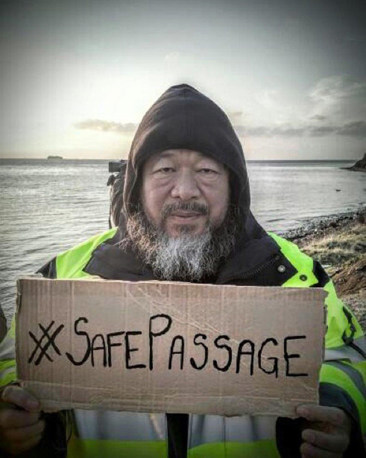 #SafePassage, 2016 © Ai Weiwei Studio