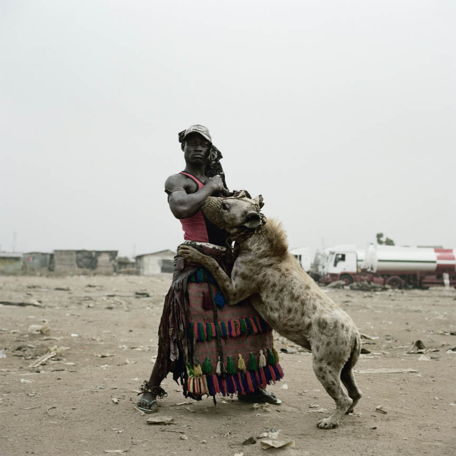 Abdullahi Mohammed with Mainasara Ogere-Remo, 2007 © Pieter Hugo