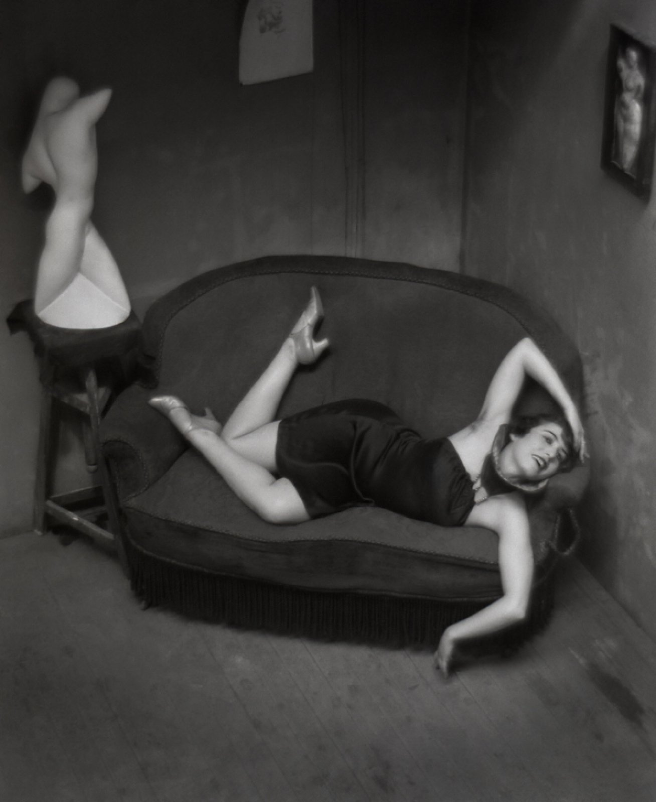 Burlesque dancer (Satyric dancer), 1926 © Ministère de la Culture et de la Communication - Médiathèque de l'architecture et du patrimoine, Dist. RMN-Grand Palais / Donation André Kertész