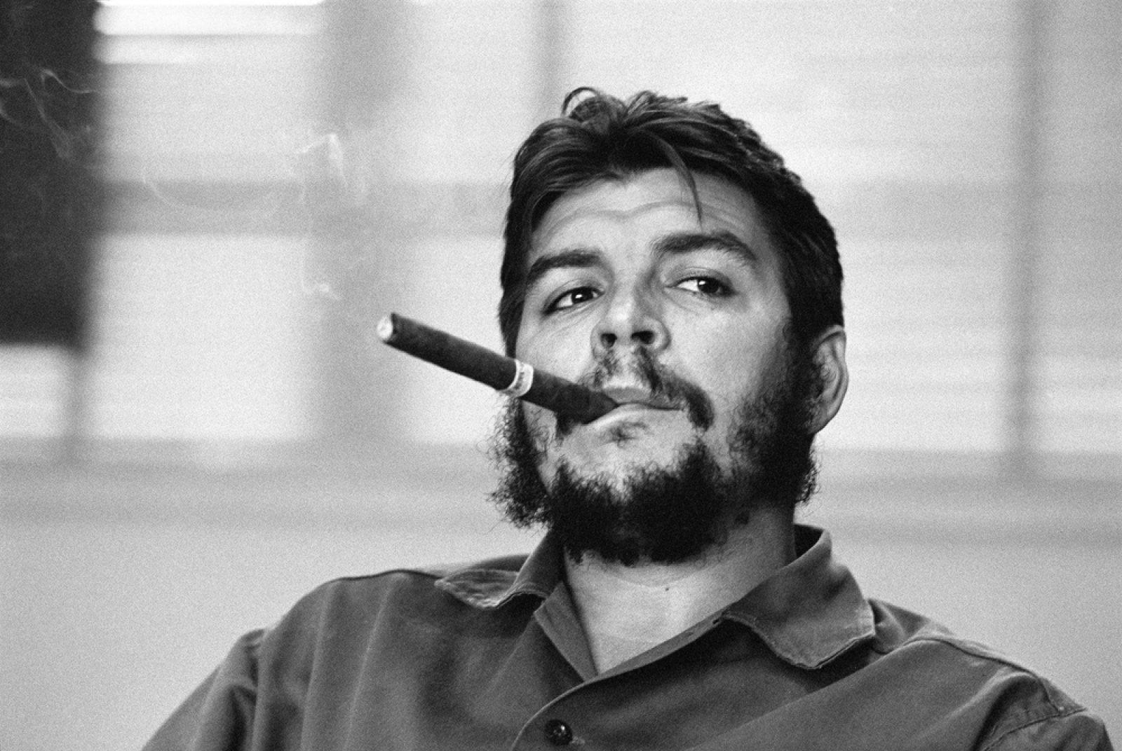 Ernesto 'Che' Guevara. Havana, Cuba, 1963 © Rene Burri / Magnum Photos