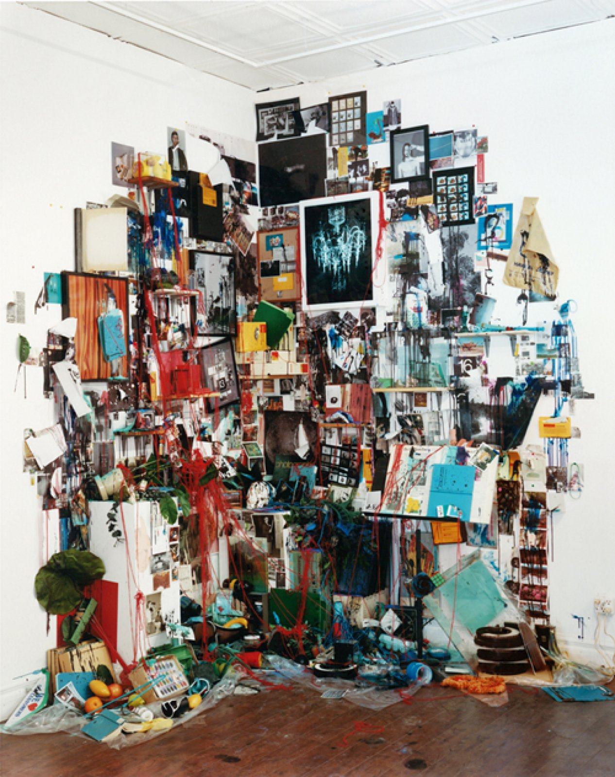 Everything in the Studio (Destroyed), 2012 © Sara Cwynar / courtesy Cooper Cole gallery, Toronto