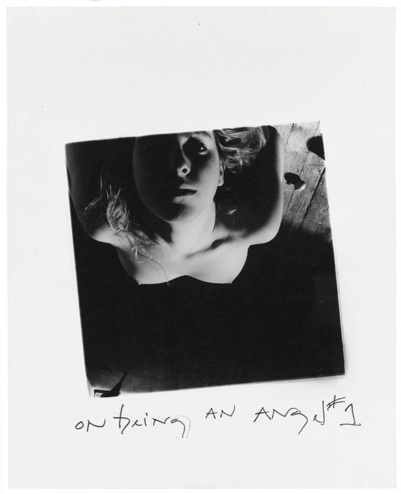 Francesca Woodman, On Being an Angel # 1, Providence, Rhode Island, 1977 © George and Betty Woodman