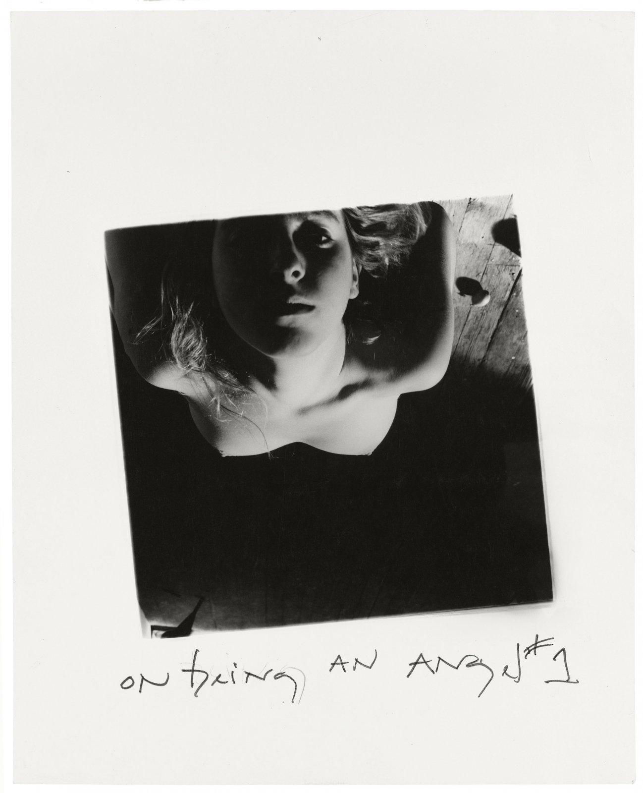 Francesca Woodman, On Being an Angel # 1, Providence, Rhode Island, 1977 © George and Betty Woodman
