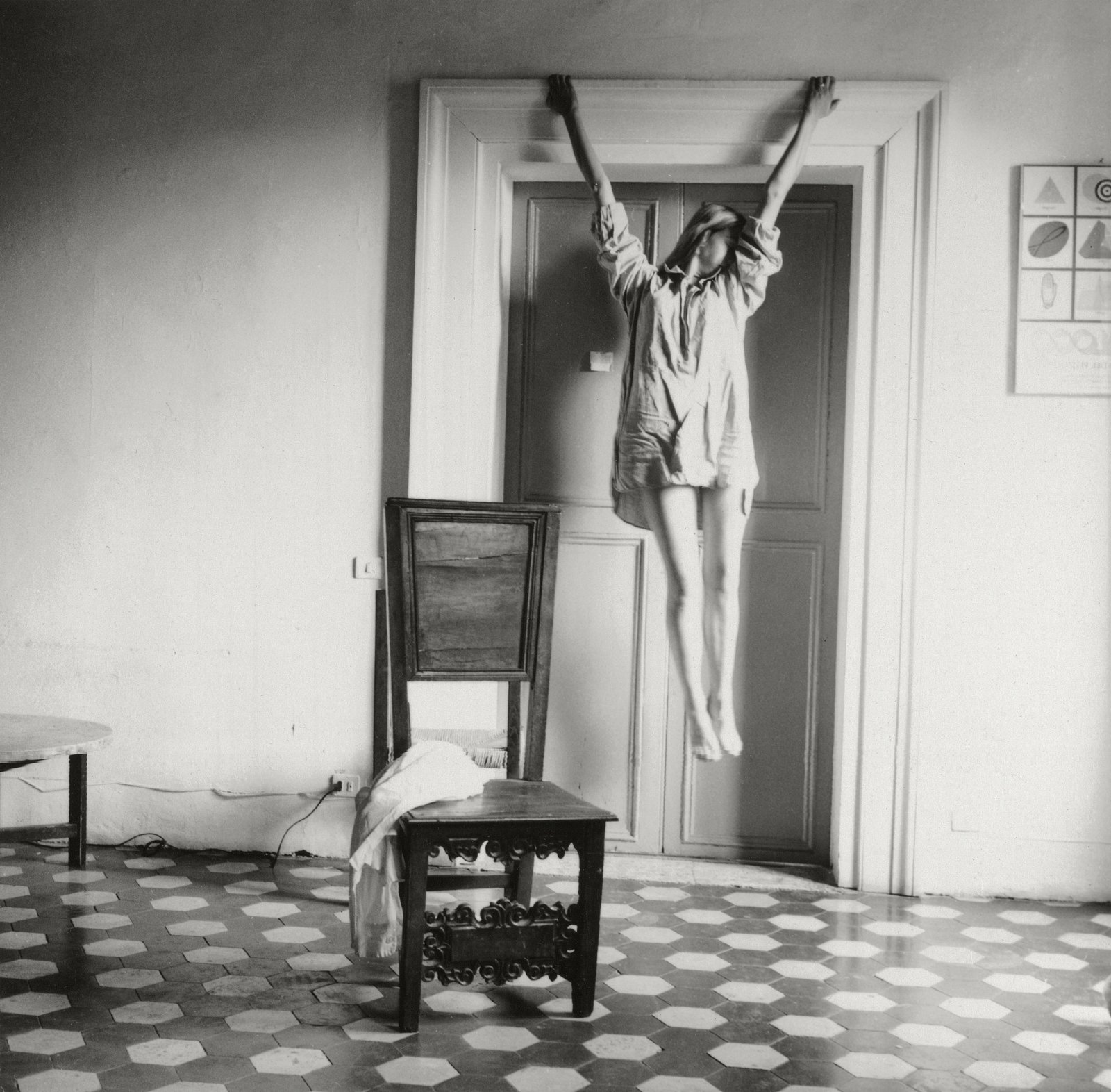 Francesca Woodman, Untitled, Rome, Italy, 1977-78 © George and Betty Woodman