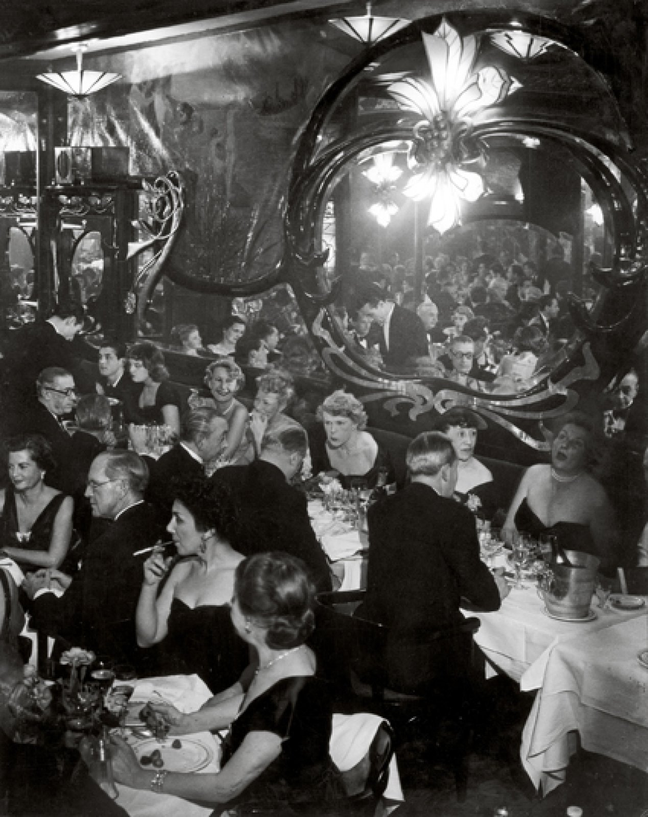 Gala Soirée at Maxim's, May 1949 © Estate Brassaï Succession, Paris