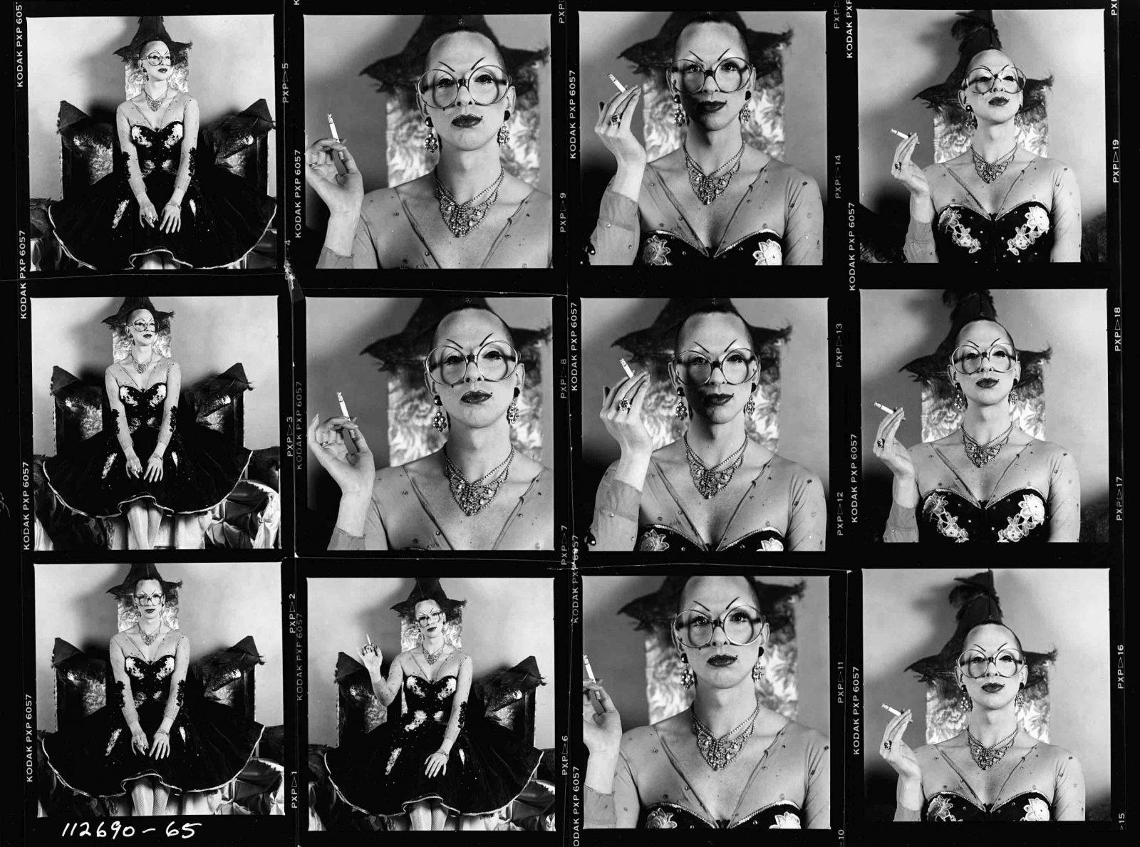 Hellun Zelluf, Amsterdam 14 november 1990 © The Remsen Wolff Collection - Courtesy of Jochem Brouwer