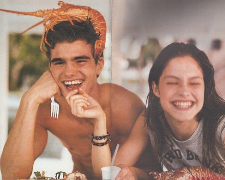 Lonneke Engel and Lobster Boy