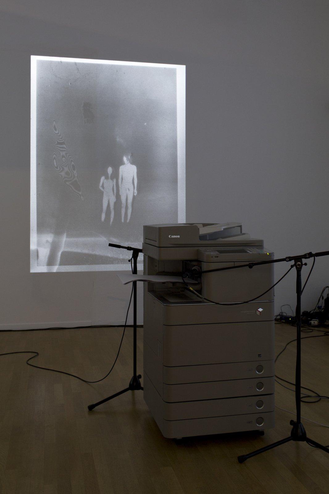 Installation shot Daisuke Yokota - Matter at Foam, 2017 © Christian van der Kooy