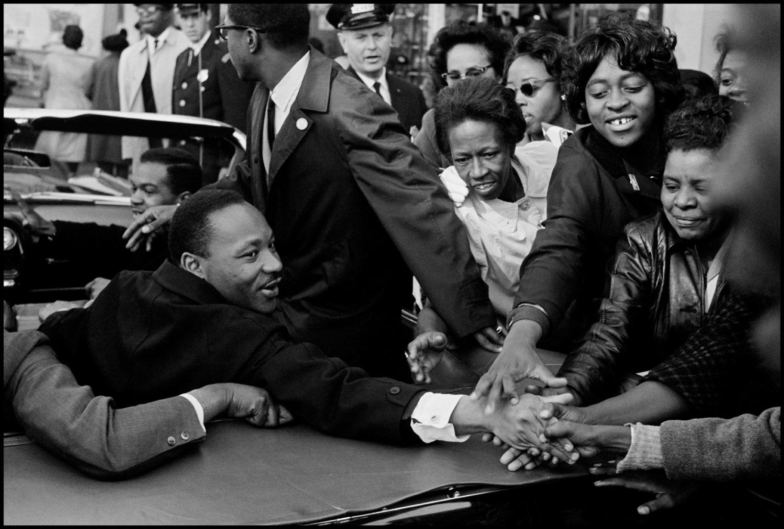 Martin Luther King. Baltimore, USA. October 1964 © Leonard Freed / Magnum Photos