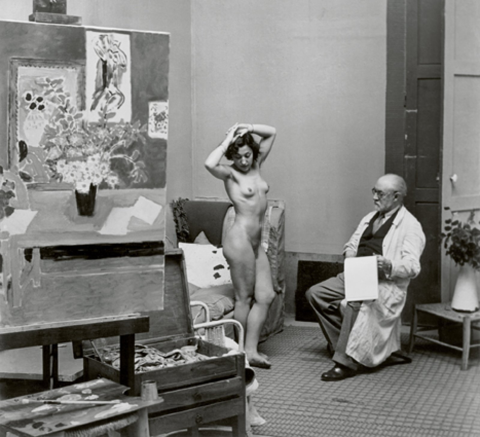Henri Matisse with his Model, 1939 © Estate Brassaï Succession, Paris