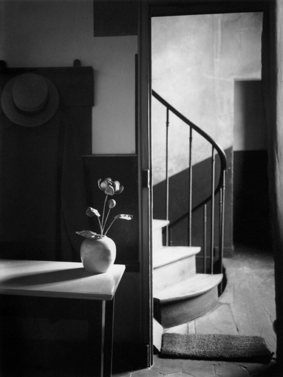 Mondrian's studio, Paris, 1926 © Ministère de la Culture et de la Communication - Médiathèque de l'architecture et du patrimoine, Dist. RMN-Grand Palais / Donation André Kertész