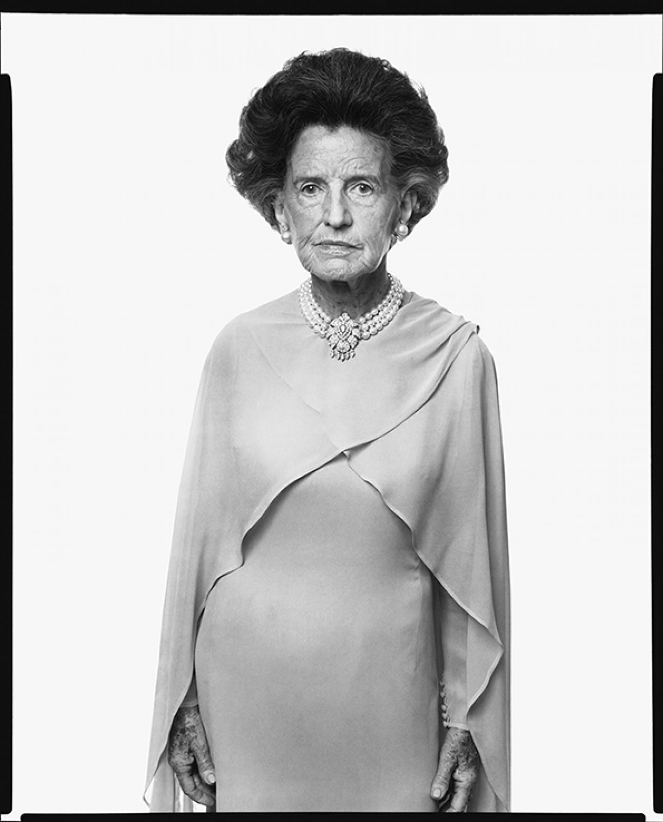 Rose Fitzgerald Kennedy, Hyannisport, Massachusetts, September 2, 1976  Photograph by Richard Avedon Copyright © The Richard Avedon Foundation