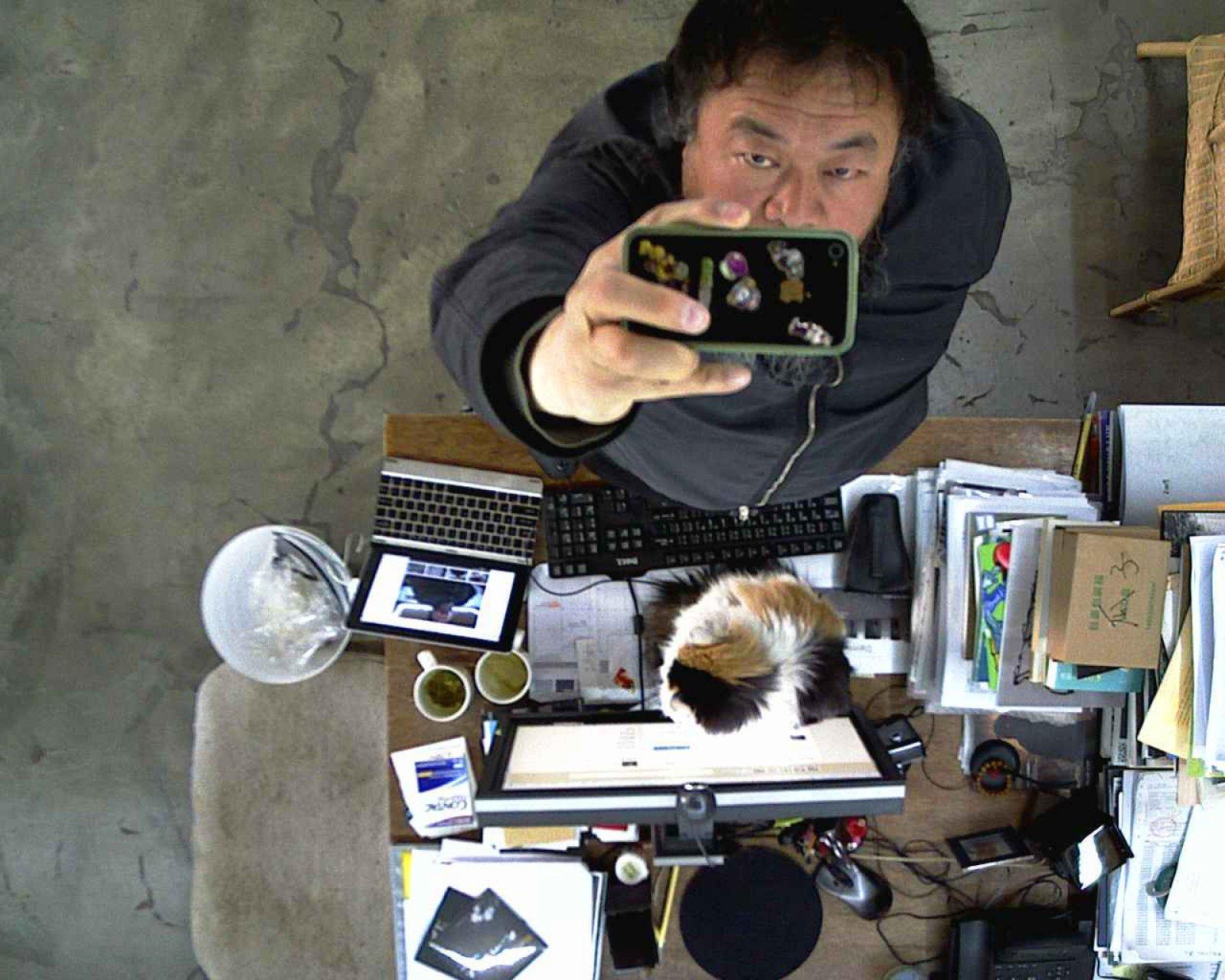 Stills from 'WeiweiCam' (now offline), 2013 © Ai Weiwei