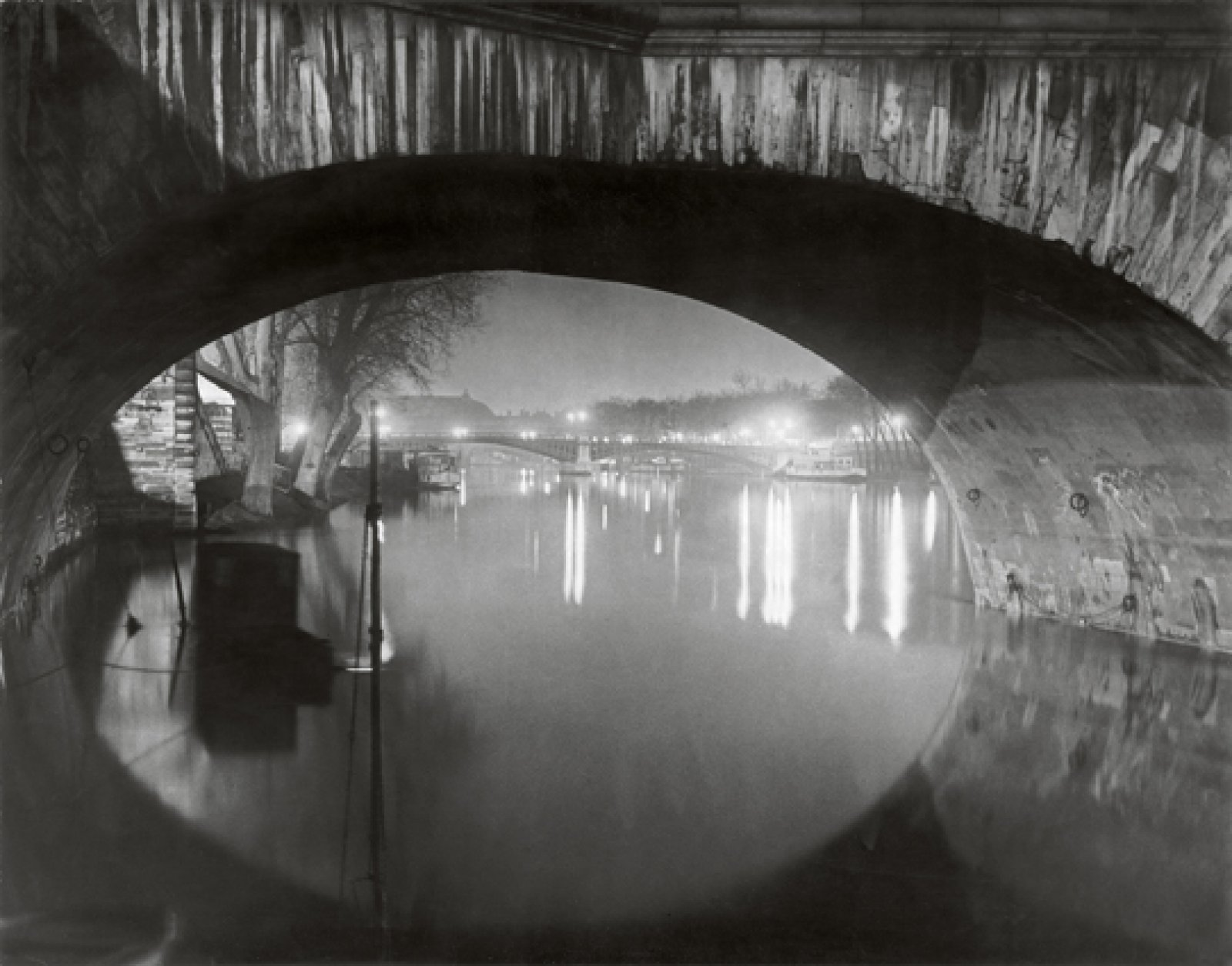 View through the pont Royal toward the pont Solférino, c. 1933 © Estate Brassaï Succession, Paris