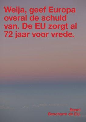 Wolfgang Tillmans - Protect the EU