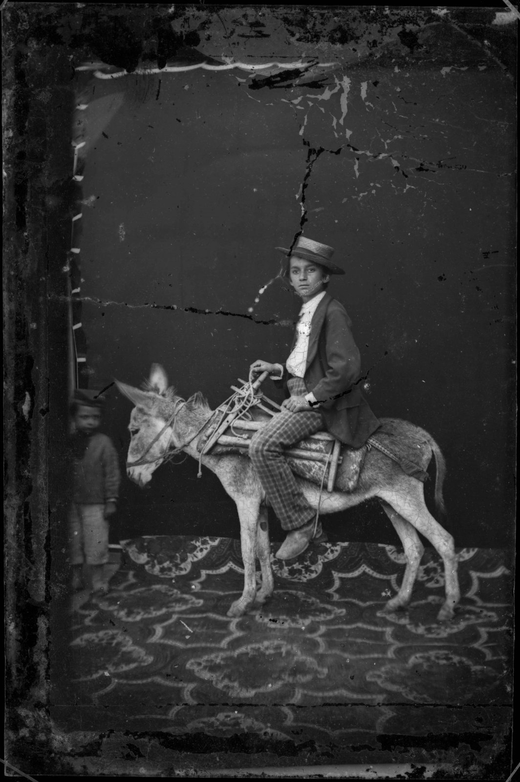 Untitled, before 1881, Pietro Marubi, wet plate © Marubi National Museum of Photography, Shkodër